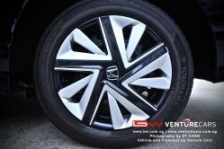 15 Inch Aluminium Wheels + Steel Radial Tyres