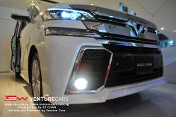 Toyota Vellfire X Fog Lights