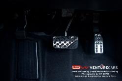 Brake, Handbrake & Accelerator