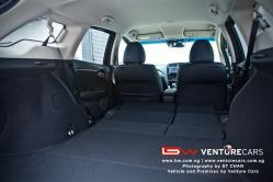 Knock-Down Rear Seats