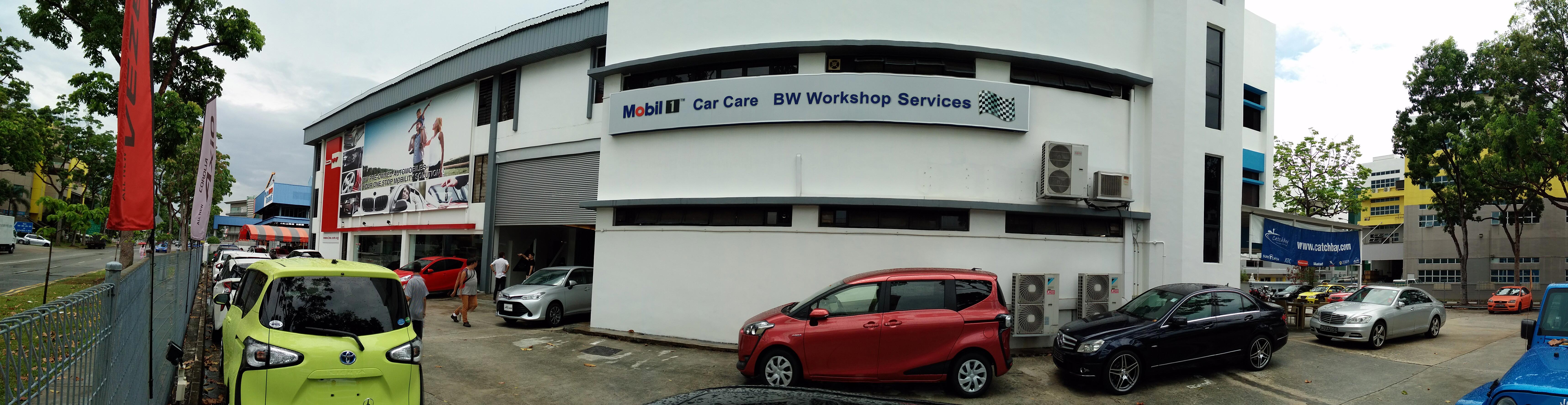 Venture Cars In-House Workshop
